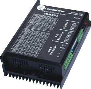 New Leadshine 3DM683 Digital Stepper Drive work parameter 60 VDC 0.5A to 8.3A for Associated products 573S09 /573S15/863S22 the new digital drive 20403 354257 for stepper motors