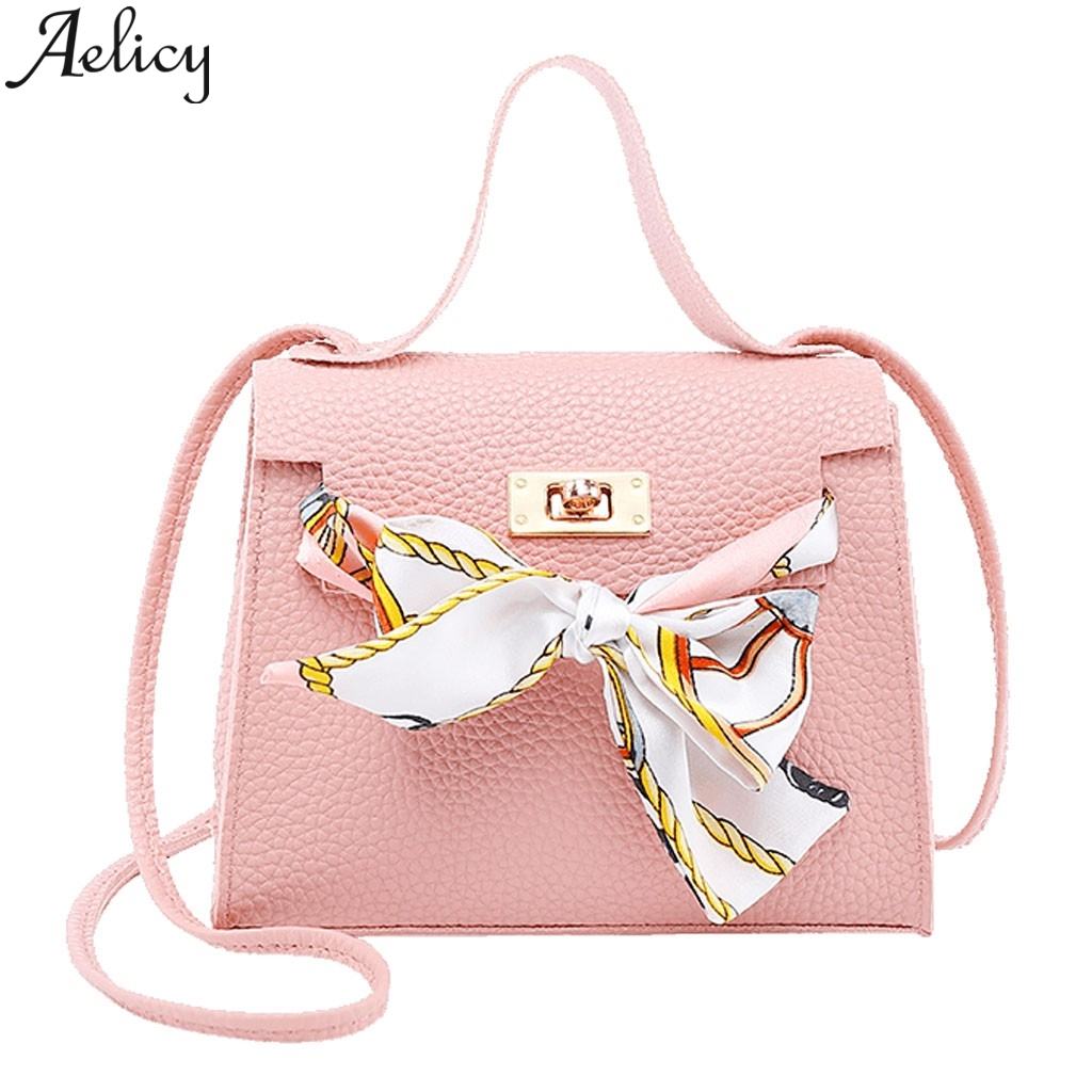 Aelicy 2019 New women's Shoulder Bag Messenger Chain Mobile Phone Bags Fashion Mobile Wallet Pink Women Bag Shoulder Cute