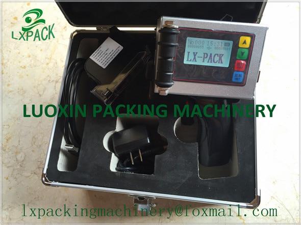 LX-PACK Laagste fabrieksprijs Automatische inkjetprinter (kleine kop, grote kop, meerdere koppen) Inkjetprinters met hoge resolutie
