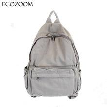 Koreanische beiläufige waschen leinwand rucksack retro student back pack reise einfache Art Laptop Tasche Mädchen Jungen Schultaschen Paar Bagpack Sac