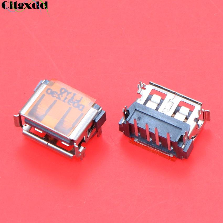 Bild von cltgxdd 10pcs Universal 1cm 2.0 USB Jack female socket Connector USB data port for Laptop HP DELL Lenovo Toshiba Notebook laptop