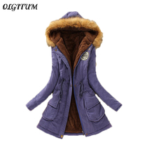 New Parkas Female Women Winter Coat