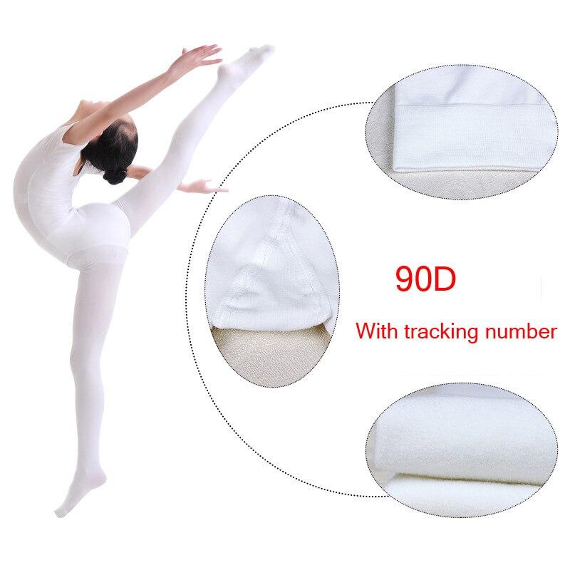 Children Ballerina Leggings Women Ballet Tights White Nude Velvet Adult Dance Sock Ballet Slim Dancewear Girls