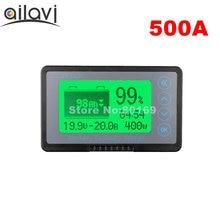 Профессиональный измеритель напряжения, тока, 12-72 в, 500A, с большим экраном TF03K