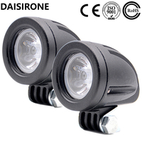 2PCS 10W 1000LM Motorcycle LED Light Fog Light Lamp Universal Headlight For Automobile Car SUV Truck