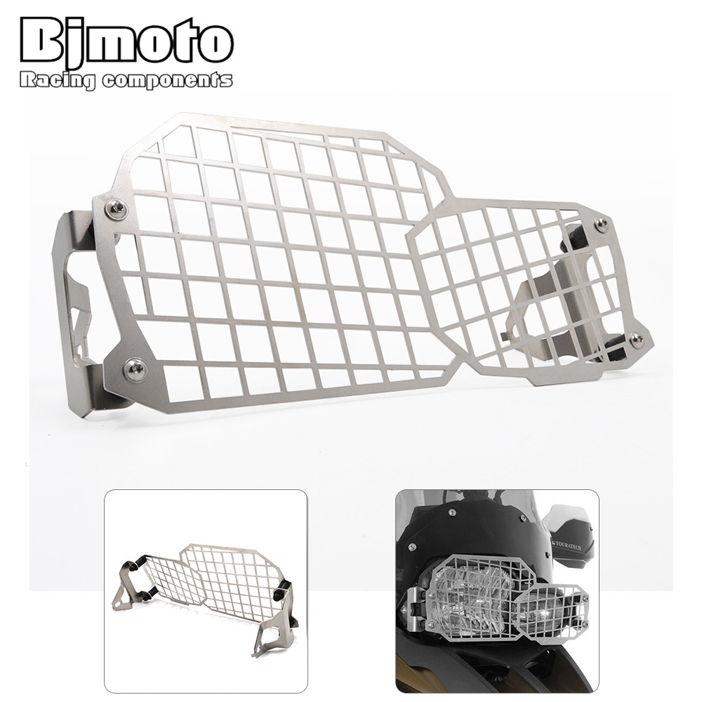 BjMoto motorcycle Headlamp Grille Guard Headlight Cover Protector For BMW F800GSADV F700GS F650GS Twin 2008- 2015 arashi motorcycle radiator grille protective cover grill guard protector for 2008 2009 2010 2011 honda cbr1000rr cbr 1000 rr