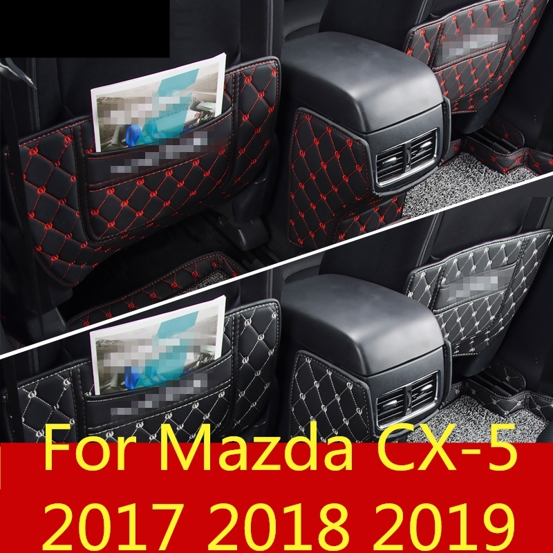 Back To Search Resultshome For Mazda Cx-5 Cx5 Cx 5 2017-2019 Car-styling Stickers Car Co-pilot Storage Box Anti-kick Protection Pad Mat Interior Decoration