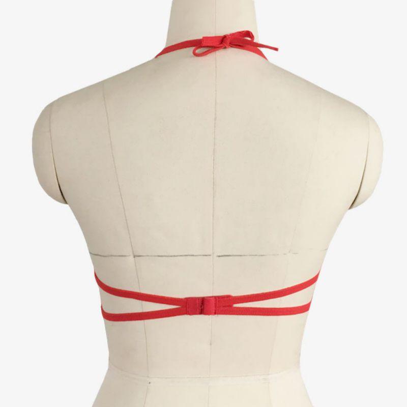2019 Push Up Bra Women Red Lace Bralette Sexy Lingerie Underwear ... 9f830b822