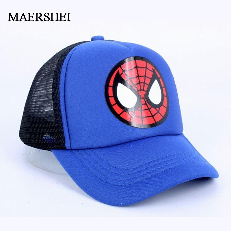 MAERSHEI Summer Boy Baseball hat Casquette children's net cap cartoon caps Snapback Bone Hip hop cap 2019 new
