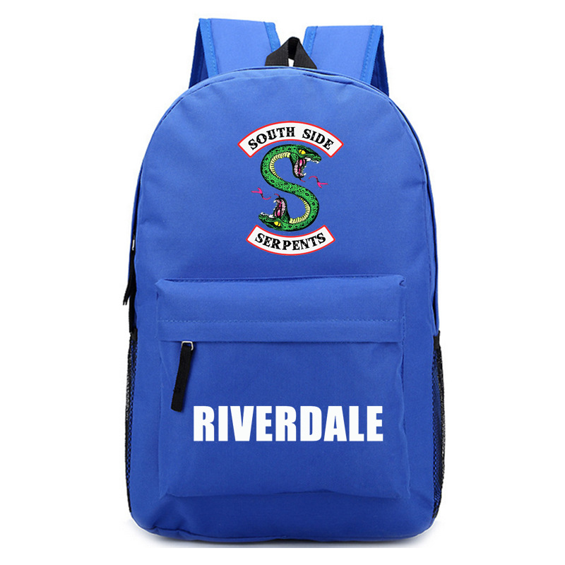 Riverdale Women Backpack Solid Schoolbag Backpack Male Solid Schoolbag Laptop Men 2018 #2