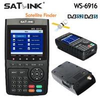 Оригинал Satlink WS 6916 Satellite Finder DVB S2 MPEG 2/MPEG 4 Satlink 6916 Высокое разрешение Спутниковое метр TFT ЖК дисплей Экран