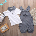 2PCS Set Baby Toddler Kids Boys Clothes T-shirt Tops + Pants Outfits Playsuit Infant Bodysuit  Clothing Baby Boy Clothes