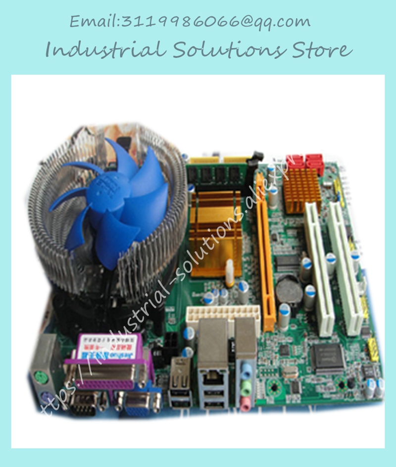 G41 computer motherboard dual-core 3.0g set ddr3 2g fan 100% tested perfect quality planetesimal g31m3 775 ddr2 4gb usb2 0 vga fully integrated g31 motherboard cd dual core core duo 100% tested perfect quality