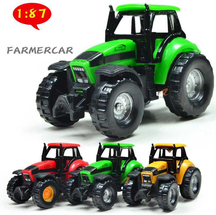 Free Shipping ! Glide Farmer Car Children's Toy Model , Baby Educational Toys