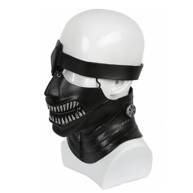 Coslive Ken Kaneki Mask Tokyo Ghoul Cosplay Helmet Live-Version Feature Flim For Halloween Party Show 1