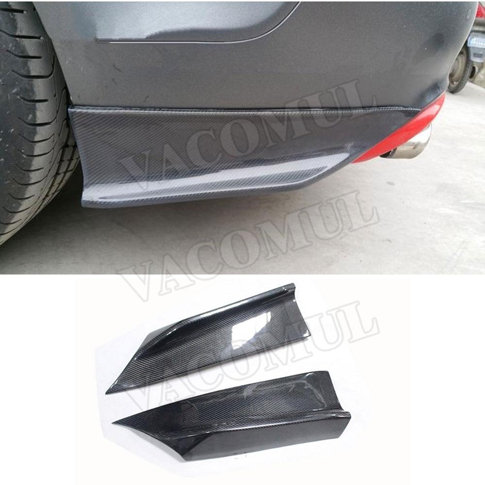 Carbon Fiber Rear Bumper Splitters for Audi A7 S7 RS7 2011 2012 2013 2014 2015 2016 2017