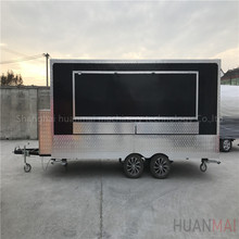 Coffee Food Truck Pizza Dining Cart Shawarma Food Kiosk Hamburger Food Van Bakery Camper Street food Concession Trailer Cart