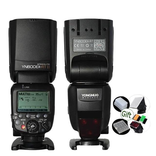 YONGNUO Speedlite YN600EX RT II GN60 TTL 2.4G Draadloze HSS 1/8000s Master Flash Licht voor Dslr Camera canon 600EX RT ST E3 RT