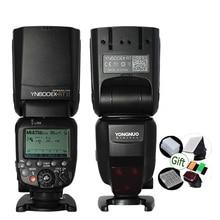 YONGNUO Speedlite YN600EX RT II GN60 TTL 2.4G لاسلكي HSS 1/8000s مصباح فلاش رئيسي لكاميرا Dslr Canon 600EX RT ST E3 RT