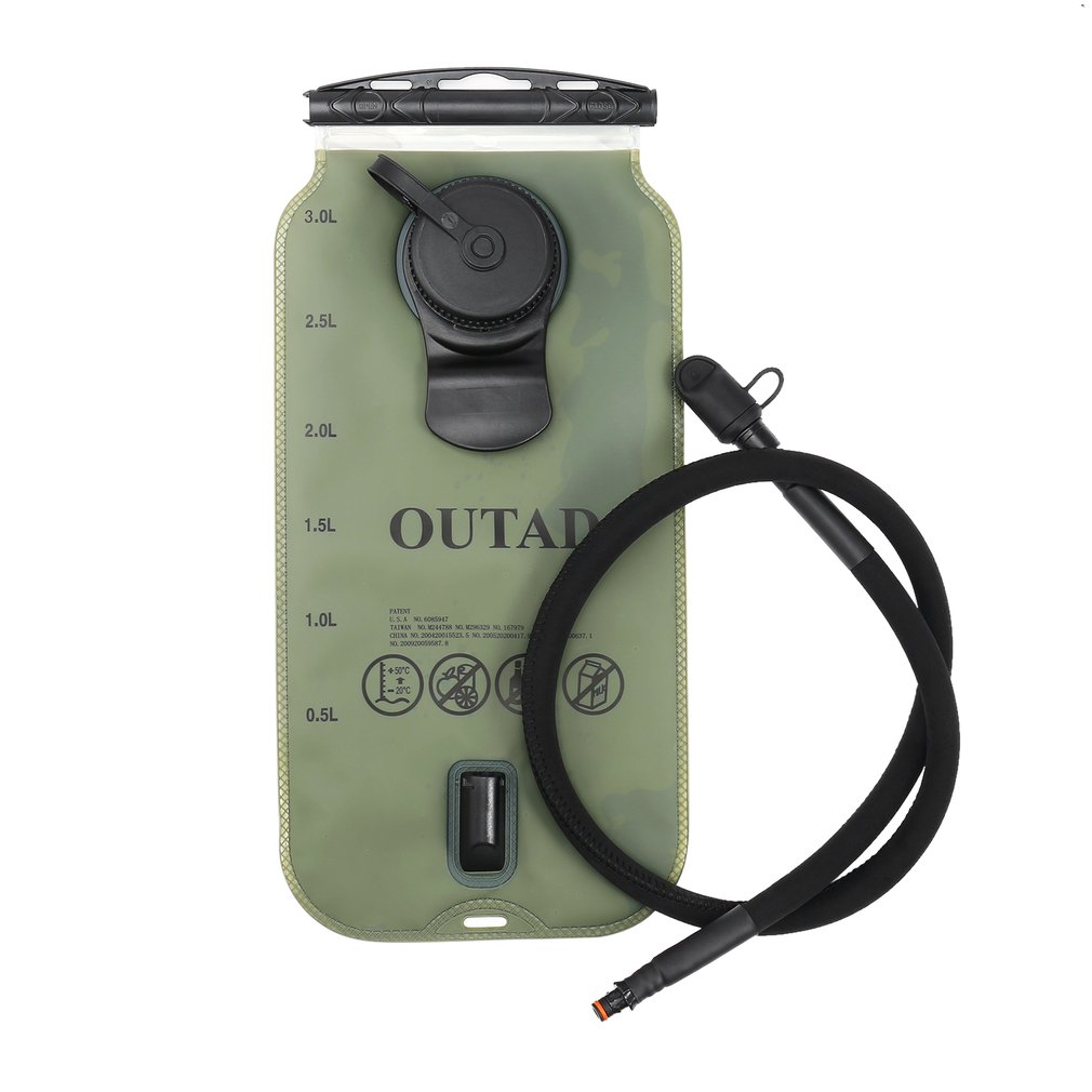OUTAD 3L ТПУ гидратационный пакет воды мочевого пузыря с изоляцией рот труба клапан для кемпинга пешего туризма альпинизма открытый Велоспорт