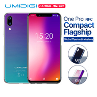 UMIDIGI One Pro Global Version 5.9 12MP+5MP Dual 4G mobile phone wireless charge 4GB 64GB P23 Octa Core smartphone with NFC Fun