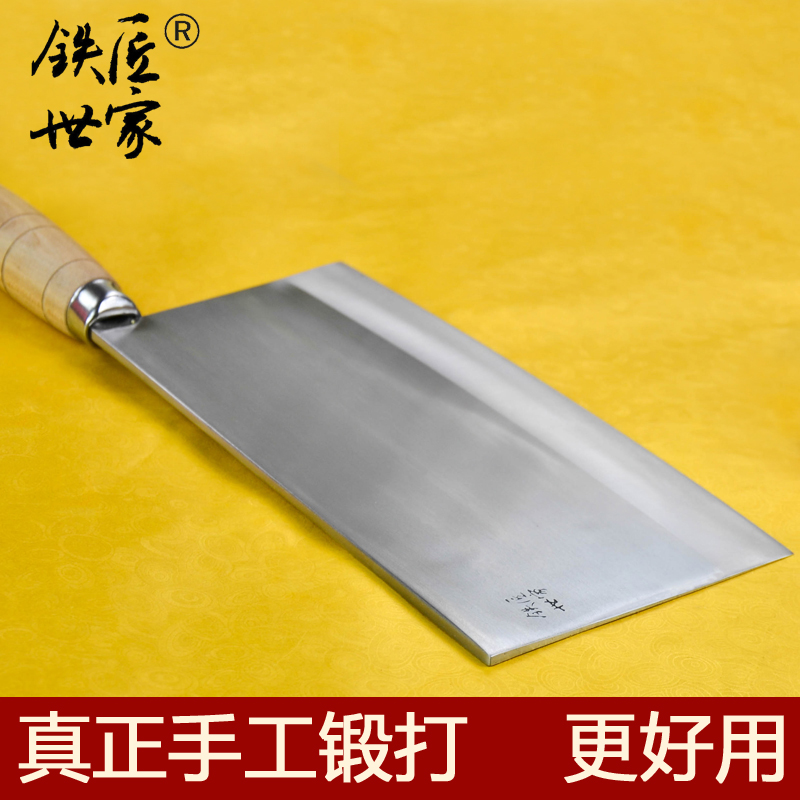 stainless steel Handmade big Kitchen font b Knives b font cooking tools slicing meat vegetable beef