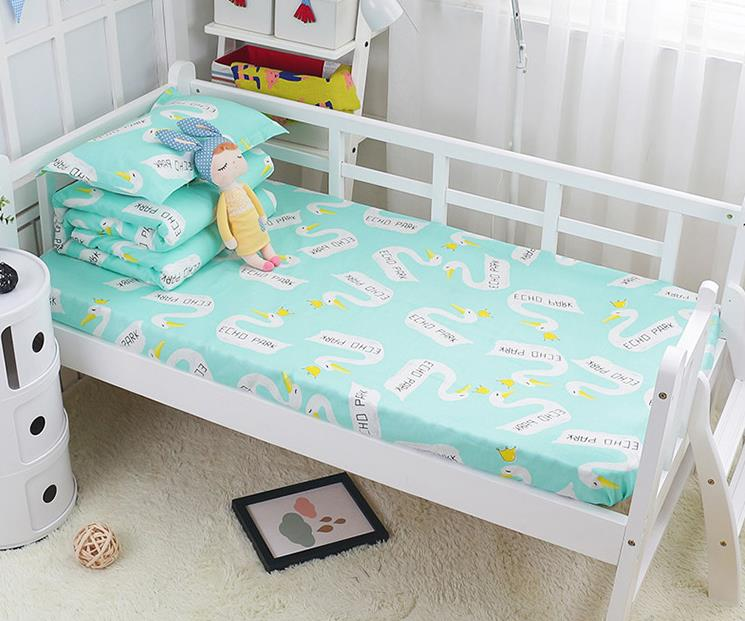 Cotton Baby Bedding Knitted Baby Bumper Bedding Sets Collision Proof Newborn Crib Bumpers Soft Breathable Cot Bed Sheet Pillow Quilt Unisex Goods Of Every Description Are Available Back To Search Resultsmother & Kids