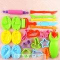 23 Peças Frete Grátis Cor Massinha Ferramenta Modelo Brinquedos Criativos 3D Ferramentas Plasticina Playdough Set Brinquedo