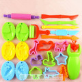 23 Pieces Free Shipping Color Play Dough Model Tool Toys Creative 3D Plasticine Tools Playdough Set Toy