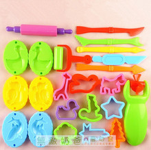 23 Pieces Free Shipping Color font b Play b font font b Dough b font Model