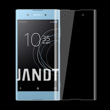 3D full coverage for SONY XA1 PLUS screen protector tempered glass case friendly bubble free accessaries