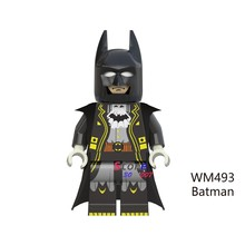 1PCS model building blocks action figures starwars superheroes diy Batman Movie Series Dark Knight diy toys for children gift(China)