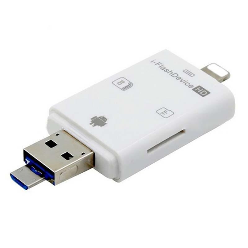 Tout en 1 lecteur de carte Usb 3.1 haute vitesse SD TF Micro lecteur de carte SD Type C USB C lecteur de carte Micro Usb mémoire OTG