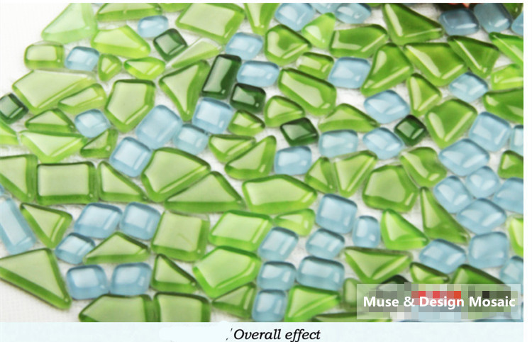 Groene Wandtegels Keuken : Kristalglas gratis s tone groene mozaïek tegel backsplash keuken