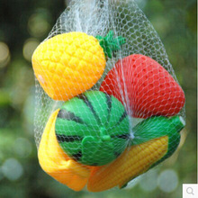 5bags free shipping  Kid Bath Toys fashion Simulation of fruits and vegetables called toy props baby bath toy wholesale