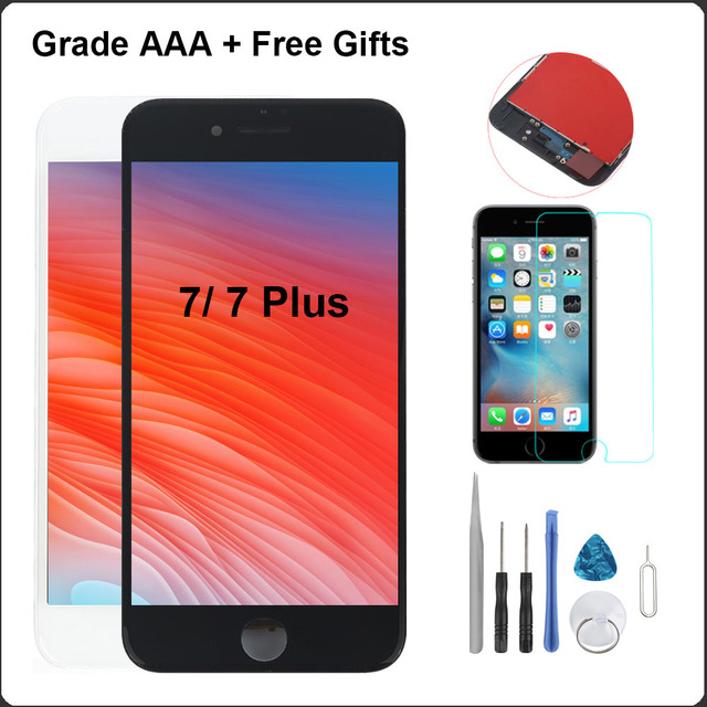 best value cc3f8 2b164 Display for iPhone 7 LCD and Digitizer Display Touch Screen Replacement 3D  Touch Display For iPhone 7 Plus LCD Assembly-in Mobile Phone LCDs from ...