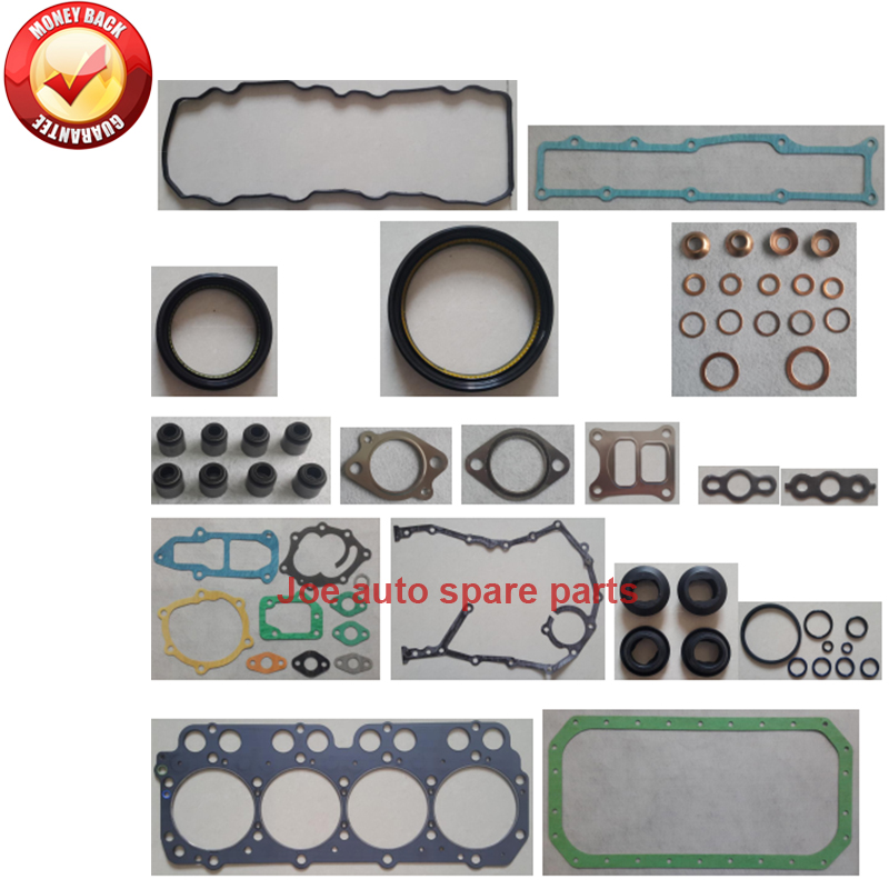 US $51 48 22% OFF|N04C complete Overhaul engine full gasket set kit for  Hino Dutro 300 Series 4009cc 4 0L 2011 -in Full Set Gaskets from  Automobiles &