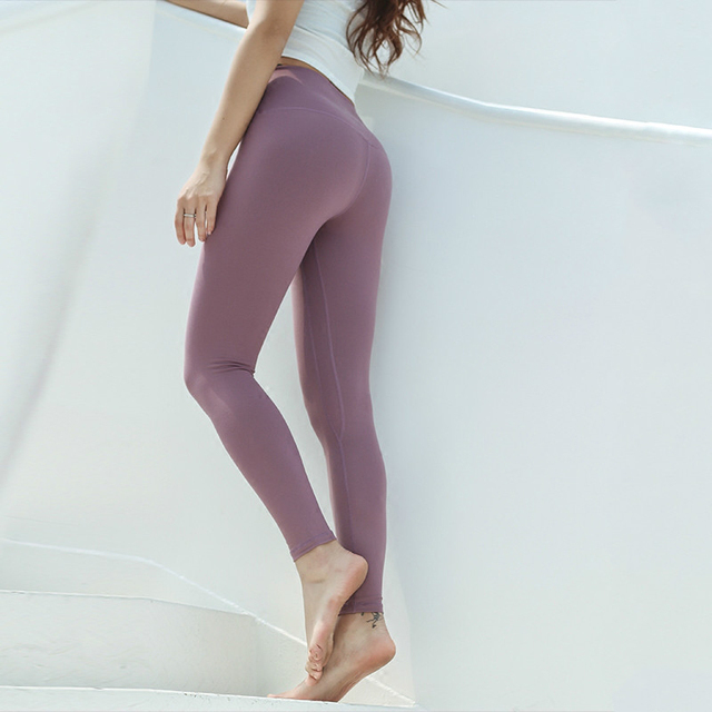 Leggings deportivos elásticos de cintura alta para mujeres