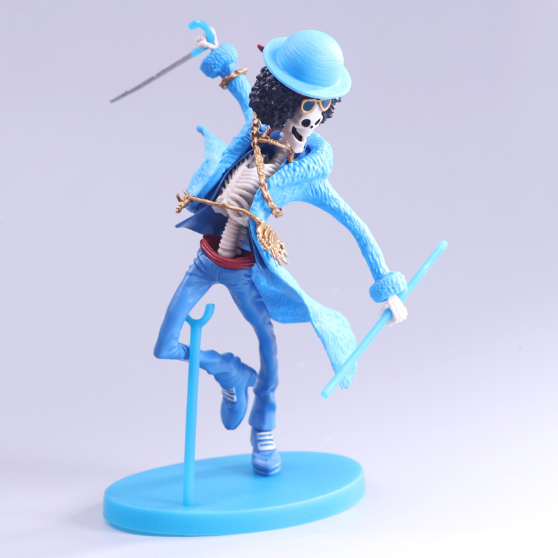 15cm One piece BROOK doll Anime Figure PVC Collection Model Toy Action figure for friends gift