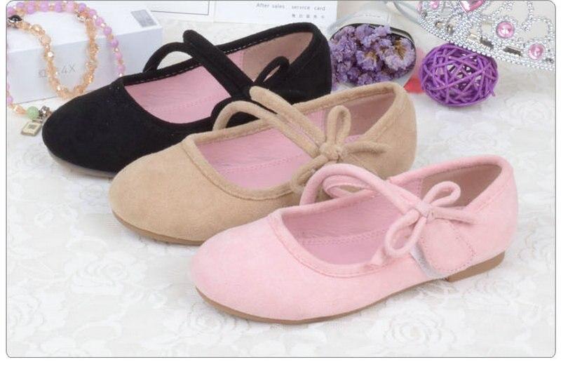 Nueva mariposa bowtie Niños niñas Flats Soft Princess Shoes Niños - Zapatos de niños