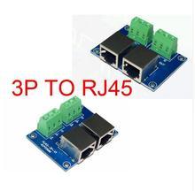 цена на 1 pcs RJ45-3P DMX512 Relays connector