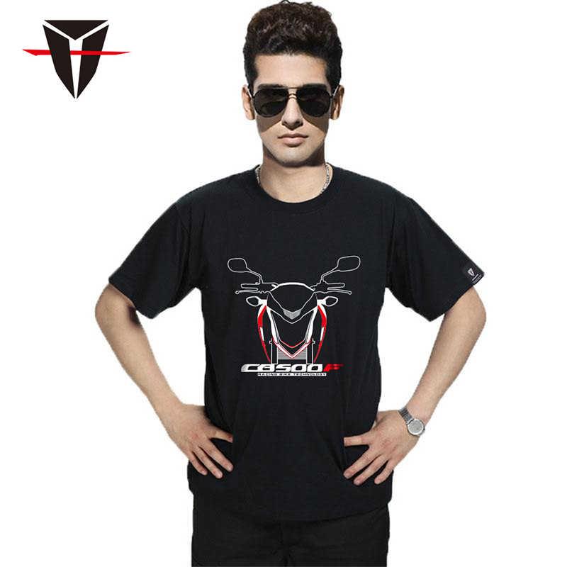 Kodaskin Mannen T-shirt Voor Honda CB500F Dreamwing 100% Katoen Tops Tee Shirt T-shirt