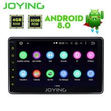 QD Universal Android 8.1 Octa Core Car Multimedia player GPS Wifi BT Radio BT 4GB RAM 32GB ROM Head unit Steering wheel RDS