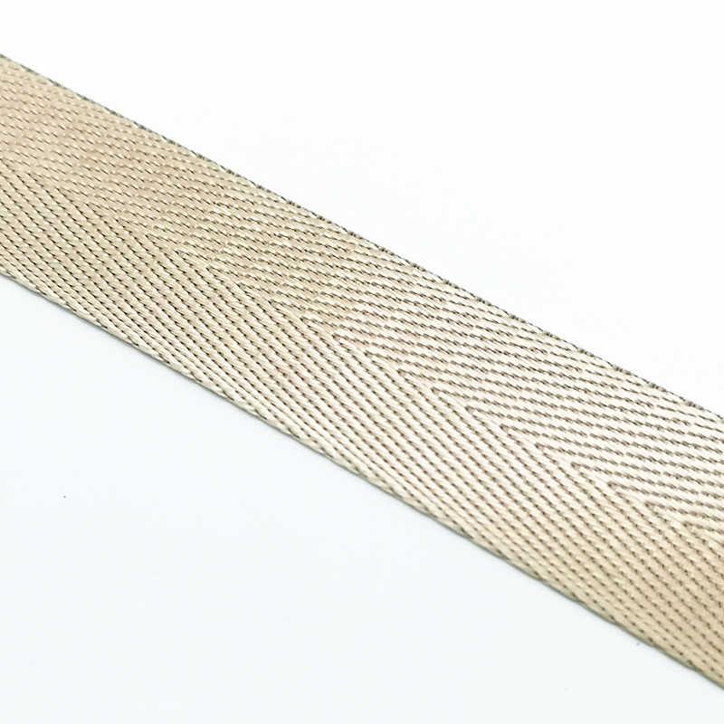 """2 м 1 """"(25 мм) Высокое качество ремень нейлоновая тесьма с узором «елочка» узор распылитель ранцевого типа для с обвязки Швейные поясная сумка аксессуары"""