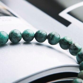 Bracelet Jaspe Vert Pour Homme 4