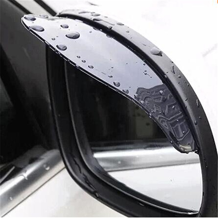 2PCS Car rear-view mirror rainproof slice. The material is soft . for Nissan MARCH LANNNIA MURANO MAXIMA ALTIMA LEAF GT-R 370Z