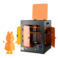 ET 3D Printer ET Fighter impresora 3d plus size 220x220x220mm Fully Enclosed Chamber Works with ABS PLA high temperature glass