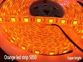 16.4ft 5M 600nm True Orange led strip 5050 SMD 300 LED ribbon 12V waterproof IP65 Home Decoration, High quality, Free shipping