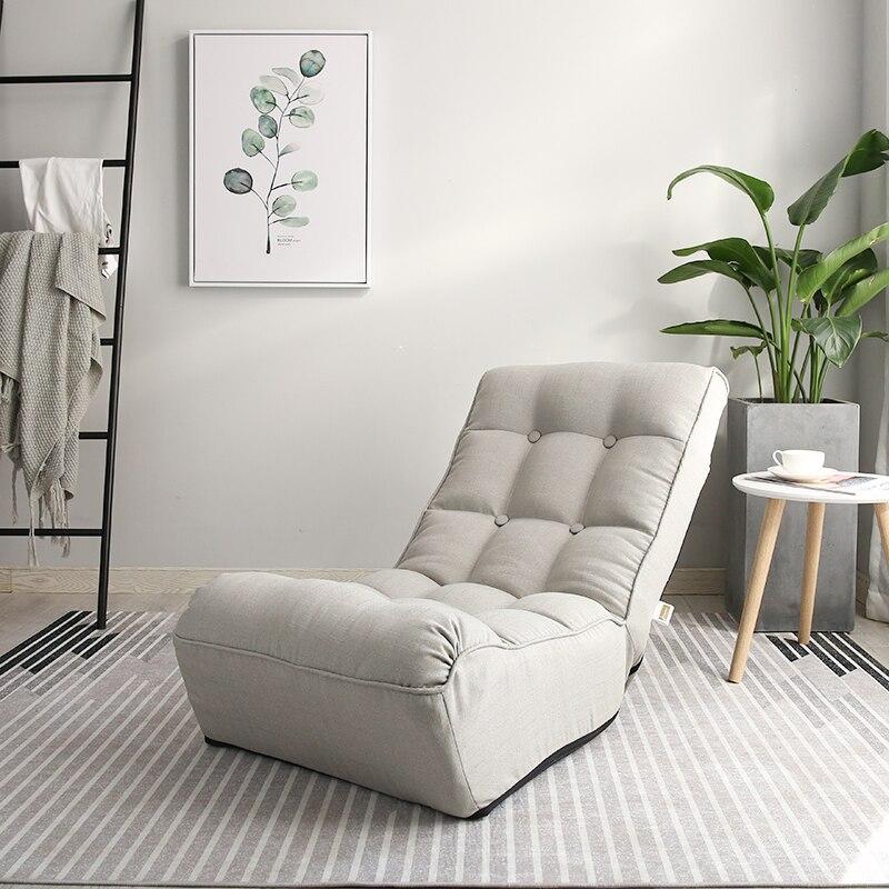 Deluxe Boden Faltbare Wohnzimmer Stuhl Liege 3 Farbe Home Möbel  Einstellbare Moderne Polster Freizeit Entspannen Stuhl In Deluxe Boden  Faltbare Wohnzimmer ...