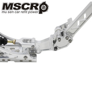 Image 4 - Universal Adjustable Aluminum Vertical Hydraulic Drifting Hand Brake With Special Master Cylinder S14 S13 silver